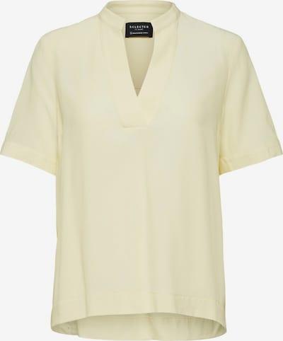 SELECTED FEMME Bluzka w kolorze pastelowo-żółtym, Podgląd produktu