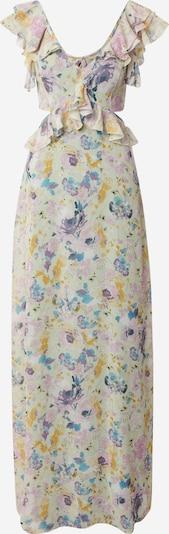 Trendyol Večerna obleka 'Smart Dress' | bež / svetlo modra / gorčica / lila barva, Prikaz izdelka