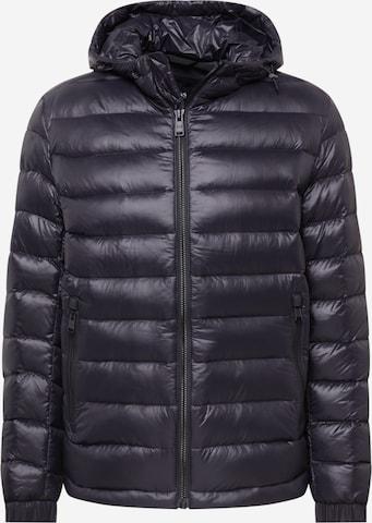 BOSS Casual Between-season jacket 'Oswizz2' in Black