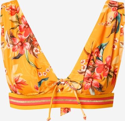 Top per bikini Hunkemöller di colore giallo oro / verde / rosa / nero, Visualizzazione prodotti
