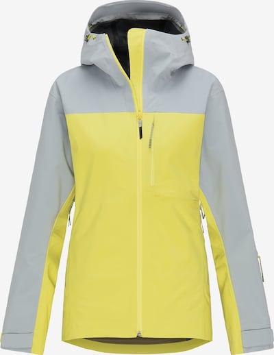 PYUA Jacke 'Trace' in gelb, Produktansicht