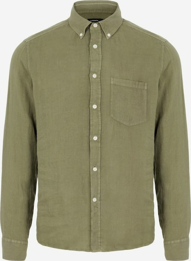 J.Lindeberg Overhemd in de kleur Groen, Productweergave