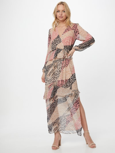 River Island Robe d'été 'Ls Animal Maxi Day Dress' en rose: Vue de face