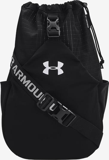 UNDER ARMOUR Sporttas in de kleur Zwart / Wit, Productweergave
