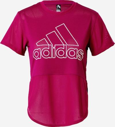 Sportiniai marškinėliai iš ADIDAS PERFORMANCE , spalva - uogų spalva, Prekių apžvalga