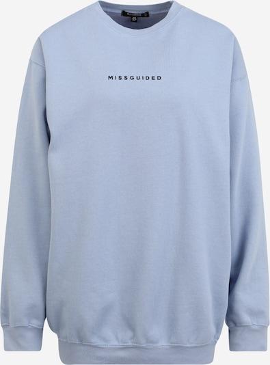 Missguided Tall Sweatshirt in Light blue / Black, Item view