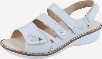 Ganter Sandale in weiß, Produktansicht