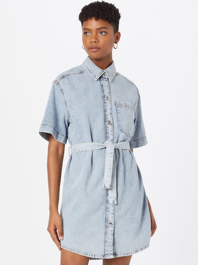 Gina Tricot Dress in Blue, View model