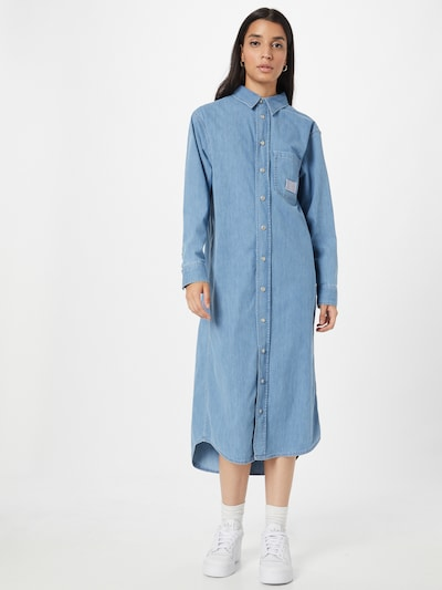 Calvin Klein Jeans Kleid in blue denim, Modelansicht