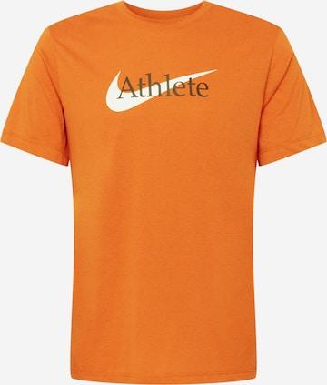 NIKE Funktsionaalne särk, värv oranž