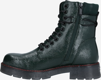 Suvarstomieji kulkšnis dengiantys batai iš TOM TAILOR , spalva - tamsiai žalia, Prekių apžvalga