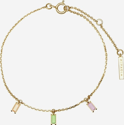 P D PAOLA Goldarmband 'Elija' in gold, Produktansicht