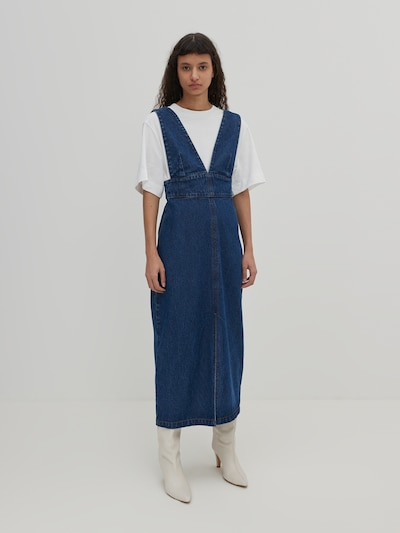 EDITED Kleid 'Kara' in blue denim, Modelansicht