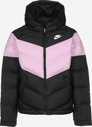NIKE Jacke in rosa / schwarz, Produktansicht