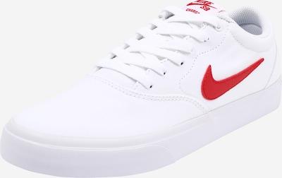Sportbačiai be auliuko 'Charge' iš Nike SB , spalva - raudona / balta, Prekių apžvalga