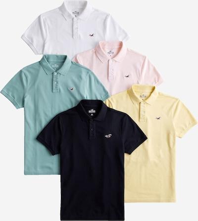 világos sárga / menta / pasztell-rózsaszín / fekete / fehér HOLLISTER Póló, Termék nézet