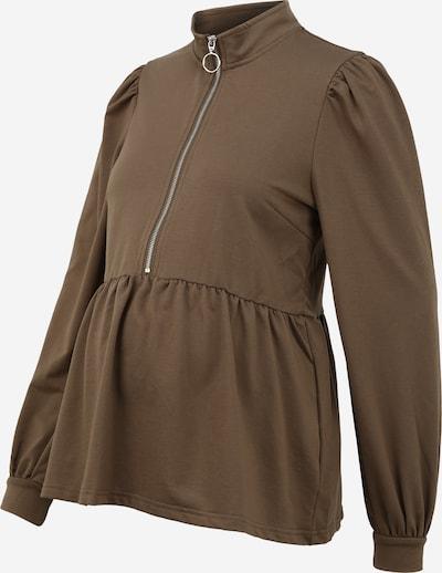 MAMALICIOUS T-shirt i ljusbrun, Produktvy