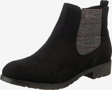 JANE KLAIN Chelsea Boots in Schwarz