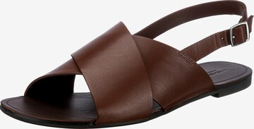 VAGABOND SHOEMAKERS Sandale in Braun