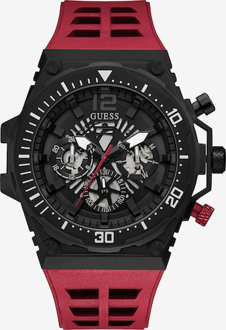 GUESS Multifunktionsuhr in Red