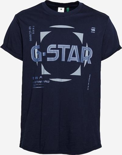 G-Star RAW Shirt in de kleur Smoky blue / Duifblauw / Donkerblauw, Productweergave