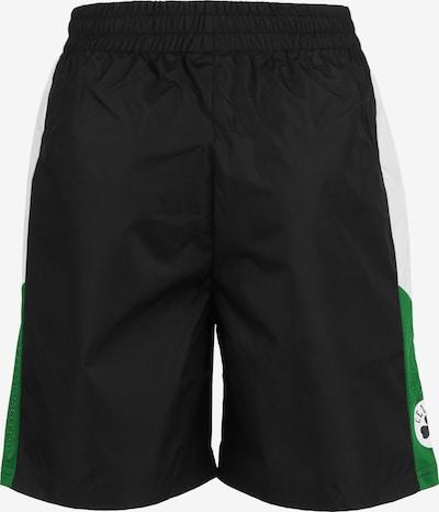 NEW ERA Broek in de kleur Groen / Zwart / Wit, Productweergave