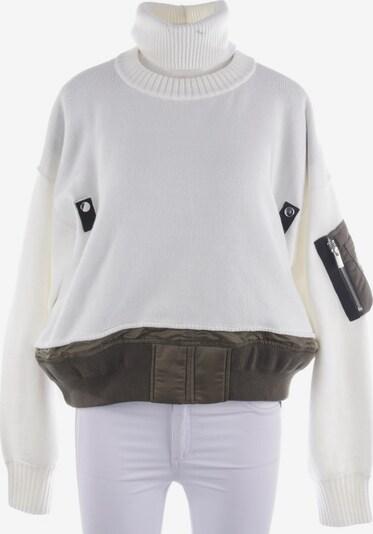 Sacai Pullover / Strickjacke in L in weiß, Produktansicht