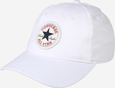 CONVERSE Cap in rot / schwarz / weiß, Produktansicht