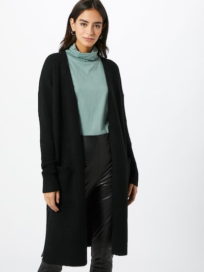 OPUS Strickjacke 'Donver' in schwarz, Modelansicht