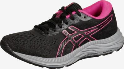 ASICS Loopschoen 'Gel-Excite 7' in de kleur Grijs / Pink / Zwart, Productweergave