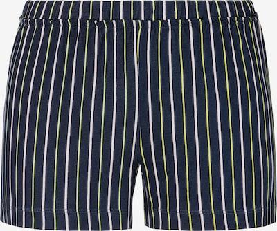 s.Oliver Pyjamahousut värissä laivastonsininen / keltainen / valkoinen, Tuotenäkymä