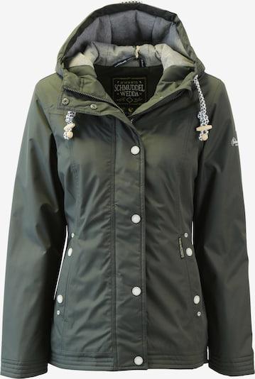 Schmuddelwedda Functionele jas in de kleur Kaki, Productweergave