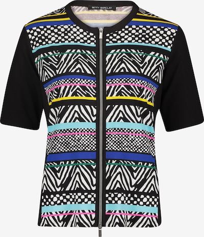 Betty Barclay Shirtjacke mit Streifen in blau / schwarz, Produktansicht