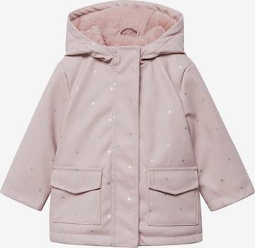 MANGO KIDS Vinterjacka i rosa