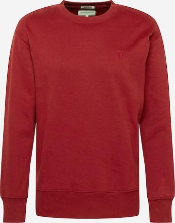 TOM TAILOR DENIM Sweatshirt in Rot
