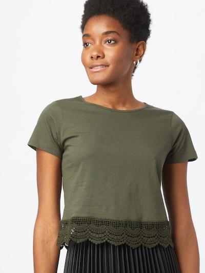 ABOUT YOU Shirt 'Suki' in Khaki: Frontal view