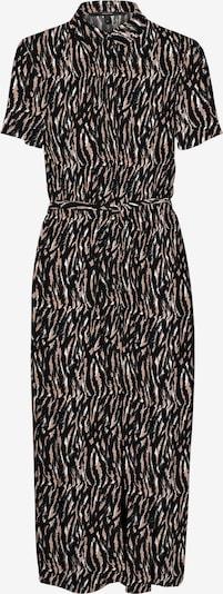 VERO MODA Košilové šaty 'Simply' - starorůžová / černá / bílá, Produkt
