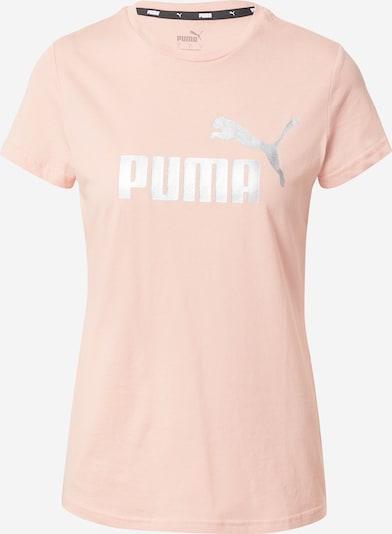 PUMA T-Shirt in apricot / silber, Produktansicht