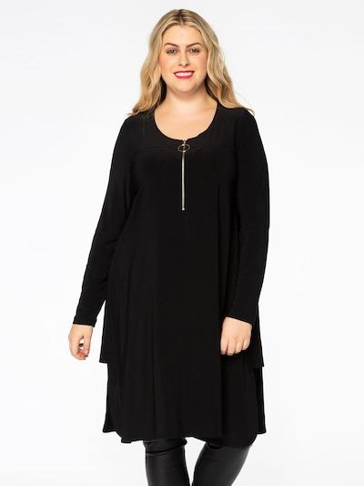 Yoek Tunic 'DOLCE' in Black, View model