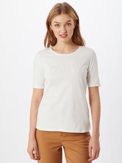 s.Oliver BLACK LABEL Majica u bijela: Prednji pogled