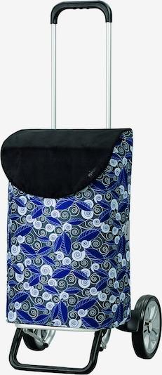 Andersen Shopper Einkaufstrolley 'Susi' in blau / grau / schwarz / weiß, Produktansicht
