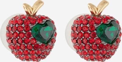 Kate Spade Náušnice - zlatá / zelená / červená, Produkt