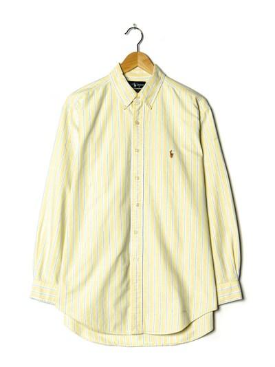 RALPH LAUREN Hemd in XXL in creme, Produktansicht