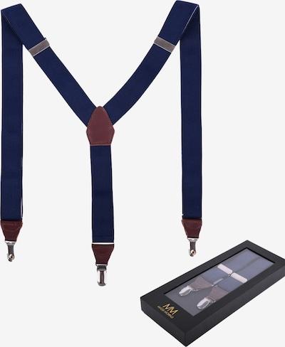 Massi Morino Bretels in de kleur Blauw, Productweergave