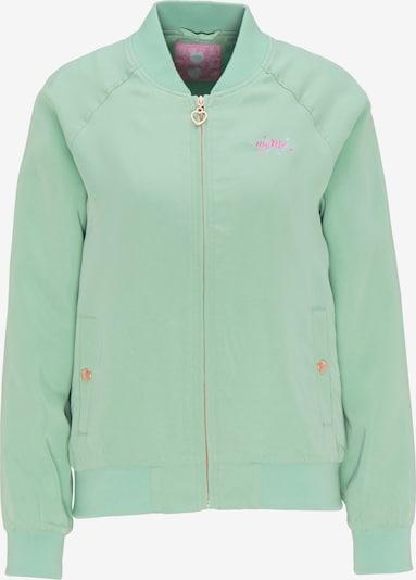 MYMO Jacke in mint / pink, Produktansicht