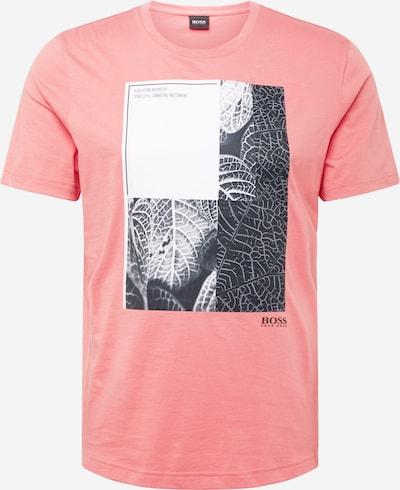Tricou BOSS ATHLEISURE pe roșu deschis / negru / alb, Vizualizare produs