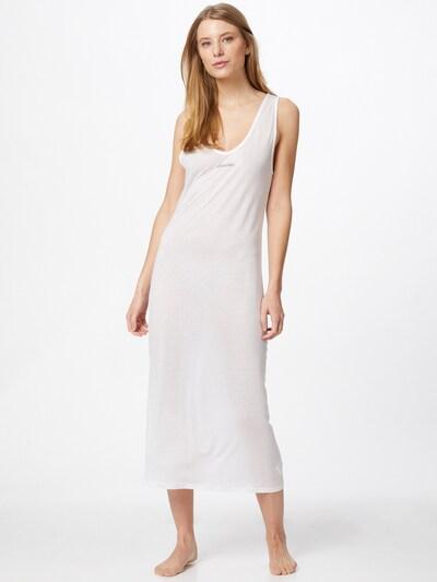 Calvin Klein Swimwear Plážové šaty - bílá, Model/ka