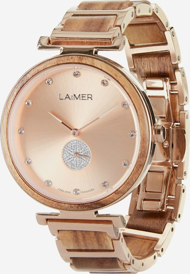 LAiMER Uhr in rosé, Produktansicht