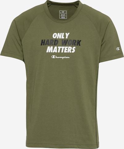 Sportiniai marškinėliai iš Champion Authentic Athletic Apparel , spalva - žalia / juoda / balta, Prekių apžvalga