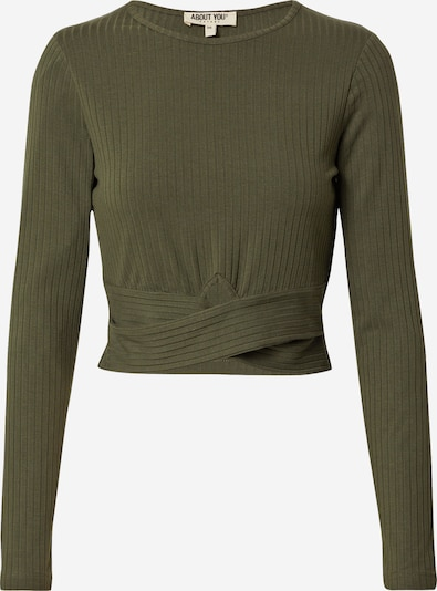 ABOUT YOU Shirt 'Juna' in khaki, Produktansicht
